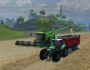 Landwirtschafts-Simulator 2013 Abfahrhelfer Courseplay
